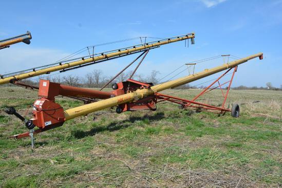 """Westfield MK100-61 10"""" X 61' hyd. swing away auger"""
