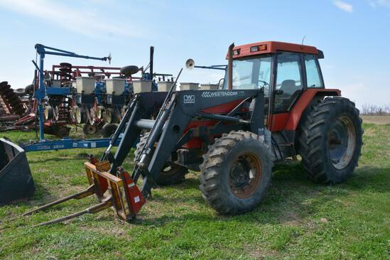 1991 Case-IH 5140 MFWD tractor