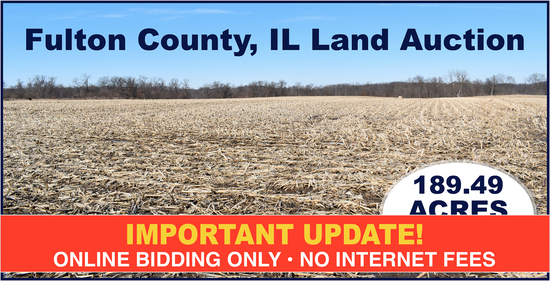 Fulton County, IL Land Auction - Stuckey