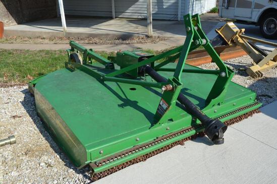 John Deere MX6 6' rotary mower
