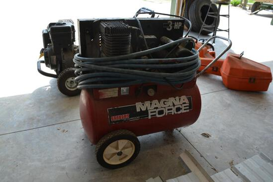 Sanborn 20 gallon portable air compressor