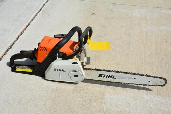 Stihl MS 180C chainsaw