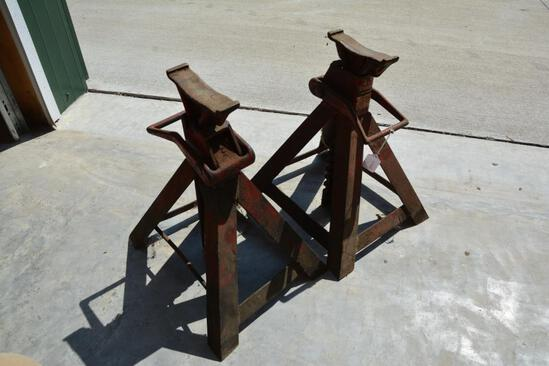 (2) Blackhawk safety stands