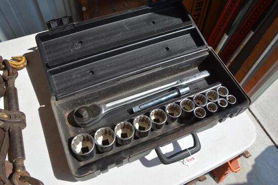 "Craftsman 3/4"" socket set"