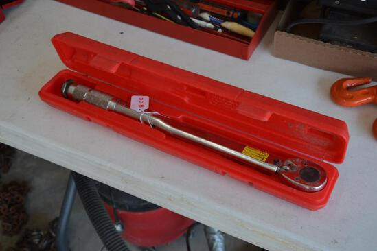 Pittsburg torque wrench