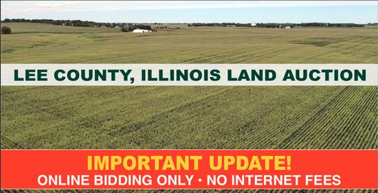 Lee County, IL Land Auction