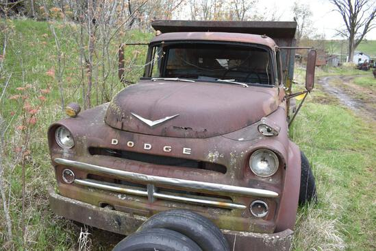 Dodge Vintage dump-truck