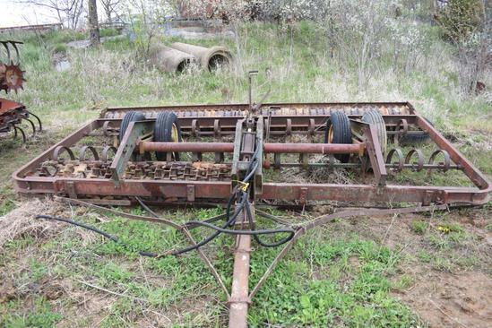 Brillion 15' culti-mulcher w/ inboard wheels