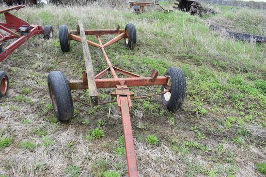 Shop built head cart w/ 5025 gear