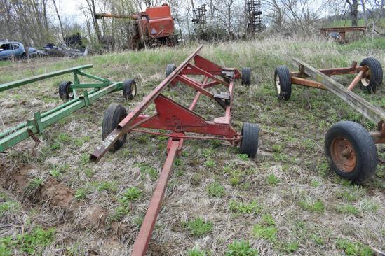 Shop built head cart