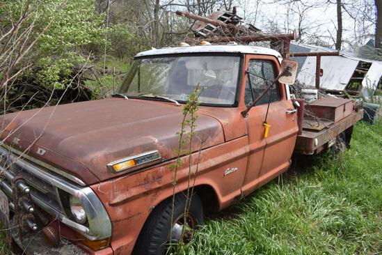 Late 60s early 70s Ford F350 custom dually 2wd pickup