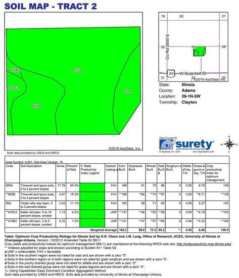 Tract 2 - 27.58 Surveyed Acres