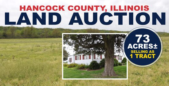 Hancock County, IL Land Auction