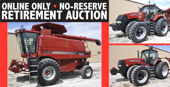 Online Only No-Reserve Retirement Auction