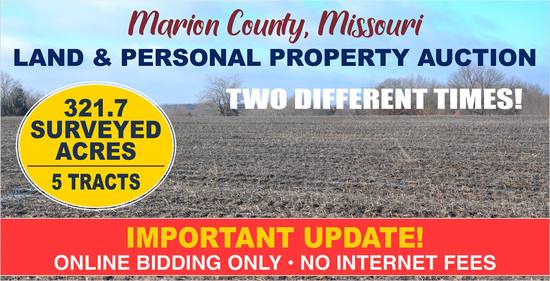 Marion County, MO Land Auction