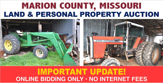 Marion County, MO Personal Property Auction Ring 1