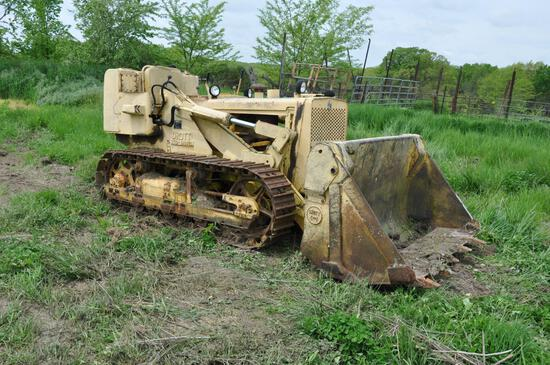 Drott Skid-shovel 6K3 crawler-loader