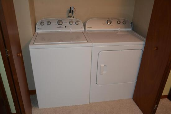Whirlpool matching washer and dryer