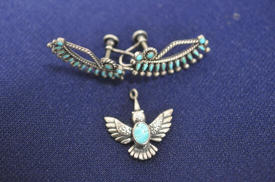 Turquoise sterling jewelry