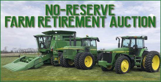 Online Only No-Reserve Farm Retirement Auction