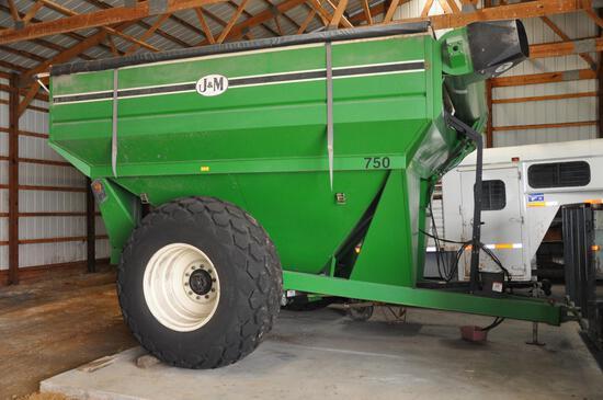 1998 J&M 750 grain cart