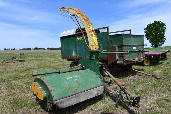 John Deere 15A flail harvester