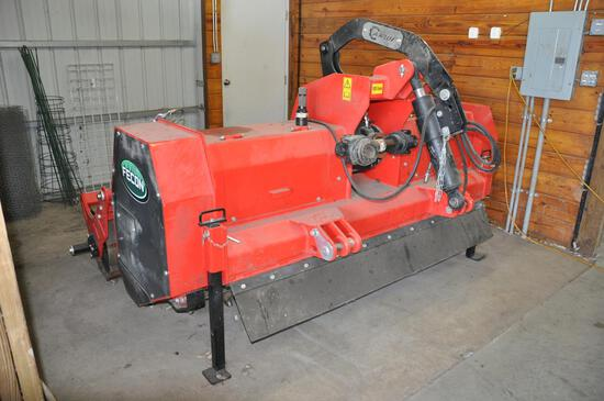 2017 Fecon RFL700 7' 3-pt. extreme duty tiller/stump grinder