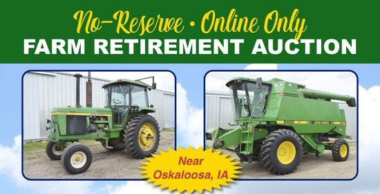 Online Only Farm Retirement Auction