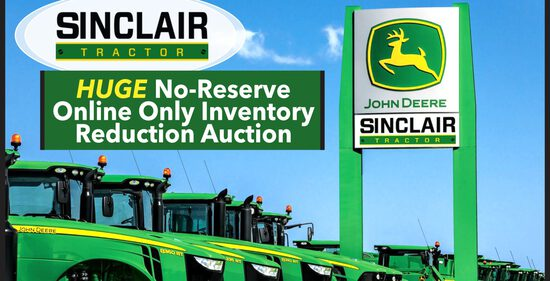 Huge No-Reserve Dealer Inventory Reduction Auction