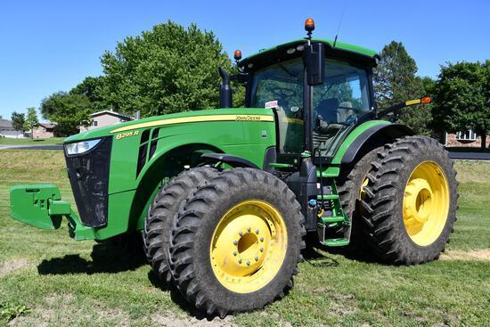 2018 John Deere 8295R MFWD tractor