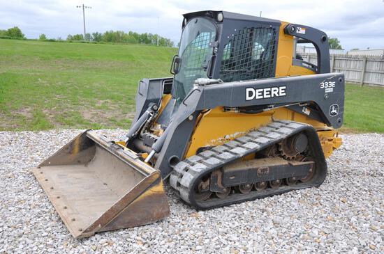 2015 John Deere 333E compact track loader