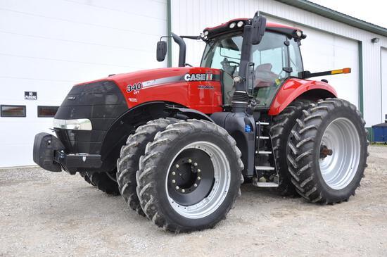 2015 Case IH 340 Magnum MFWD tractor