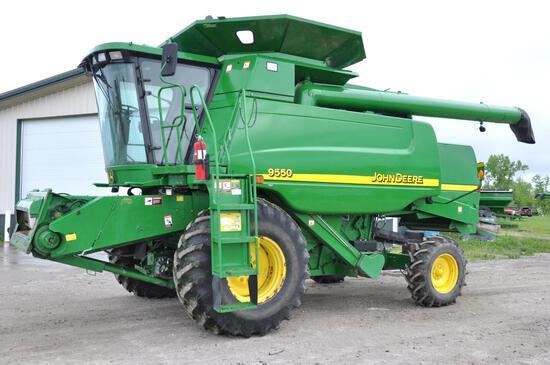 2003 John Deere 9550 2wd combine