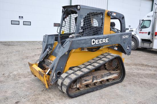 2012 John Deere 329D compact track loader