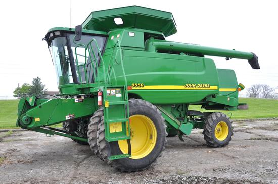 2000 John Deere 9550 2wd combine