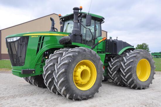 2018 John Deere 9470R 4WD tractor
