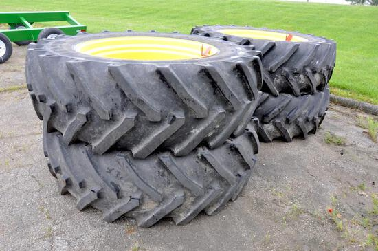 (4) Titan 620/70R46 tires & wheels for sprayer