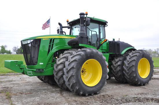 2017 John Deere 9470R 4WD tractor