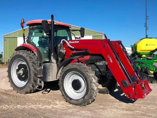 2015 Case IH Puma 185 MFWD tractor