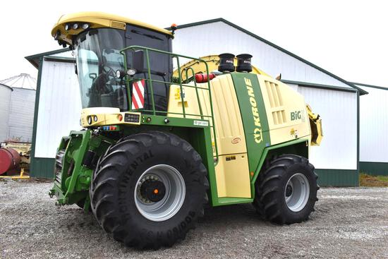 2014 Krone Big X700 4wd self-propelled forage harvester