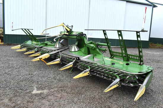 2014 Krone EasyCollect 753 10 row corn head