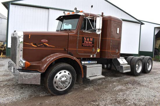 1992 Peterbilt 378 truck