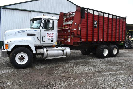 1998 Mack CH613 6x4 forage truck