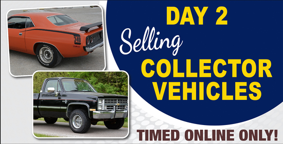 Day 2: 4-Day Online Only Collector Car Auction