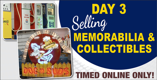 Day 3: 4-Day Online Only Collector Car Auction