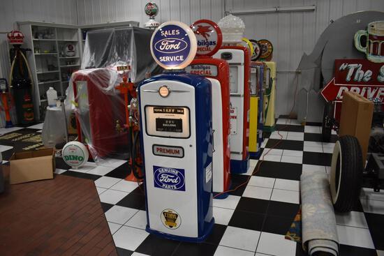 Bennett Model 1066 Ford Sales gas pump