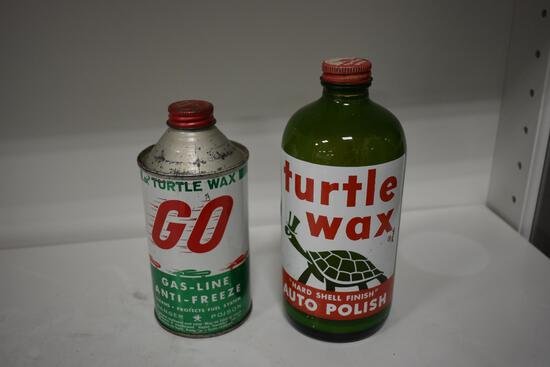 (2) Turtle Wax advertising pieces