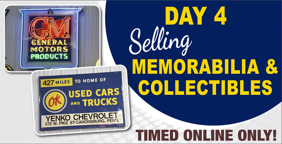 Day 4: 4-Day Online Only Collector Car Auction