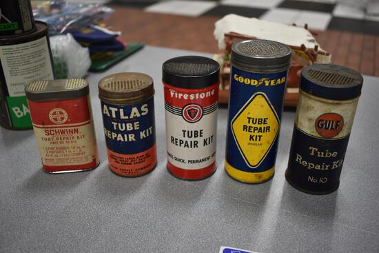 (5) automotive tube repair kits