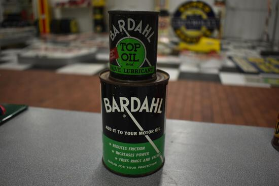 (2) Bardahl unopened cans